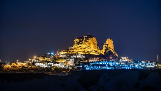 Turkey, Uchisar, Cappadocia - GPS (38,636192; 34,815635)