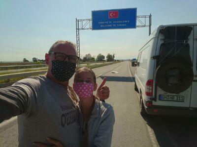 Turkish Border - GPS (40,929681; 26,334402)