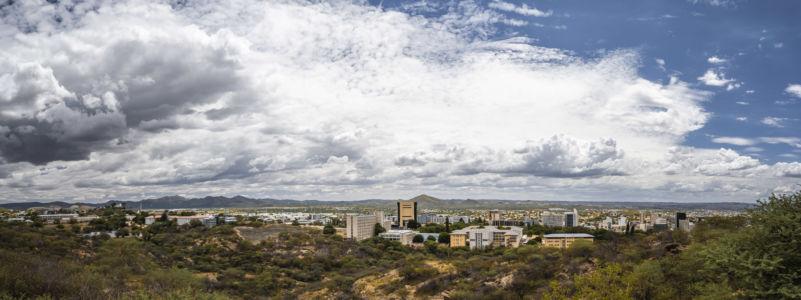 Windhoek, Namibia, GPS (-22,564556; 17,092958)