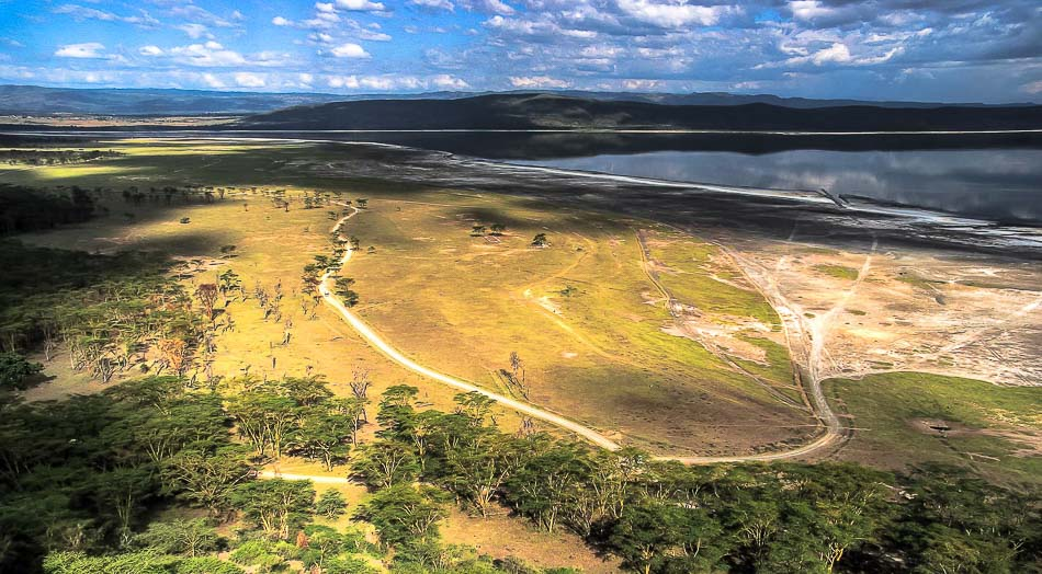 Lake Nakuru, Lake View Estate, Rift Valley, Kenia