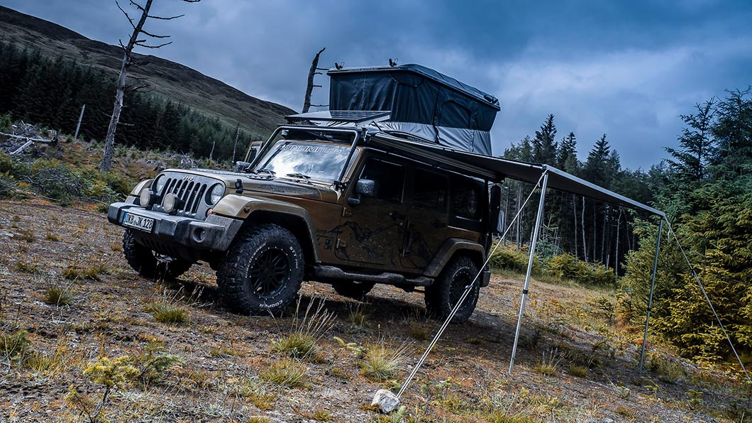 JEEP Rooftop Tent, James Baroud