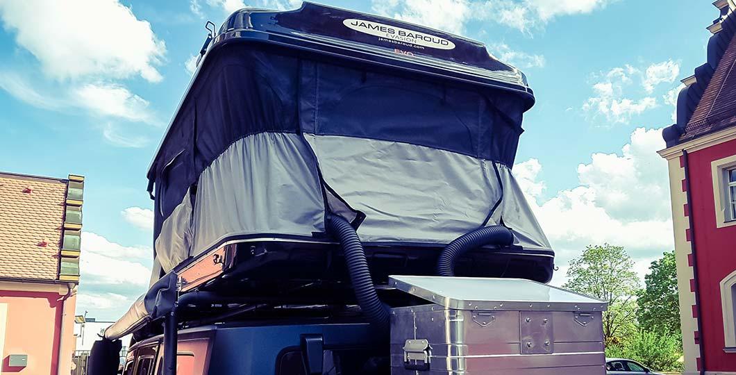 JEEP Rooftop Tent, Diesel Heater